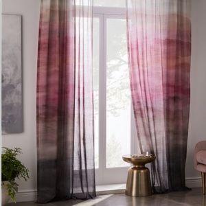 West elm curtain